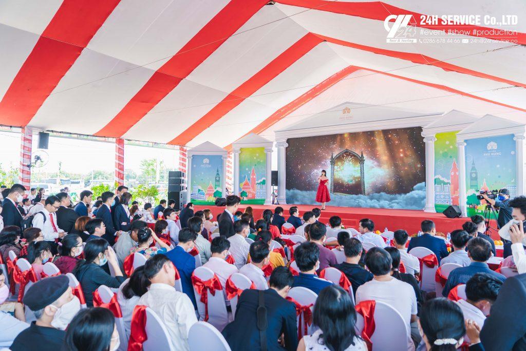 Buổi Lễ có sự góp mặt của các sở Ban ngành, Lãnh đạo địa phương; Ban Lãnh đạo Tập Đoàn, cơ quan truyền thông và hơn 2.000 khách hàng thân thiết