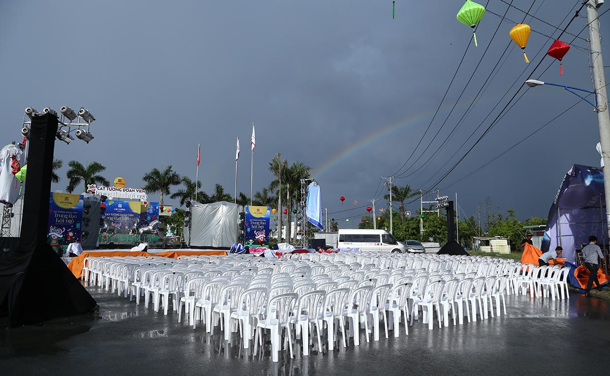 Cầu vồng sau mưa