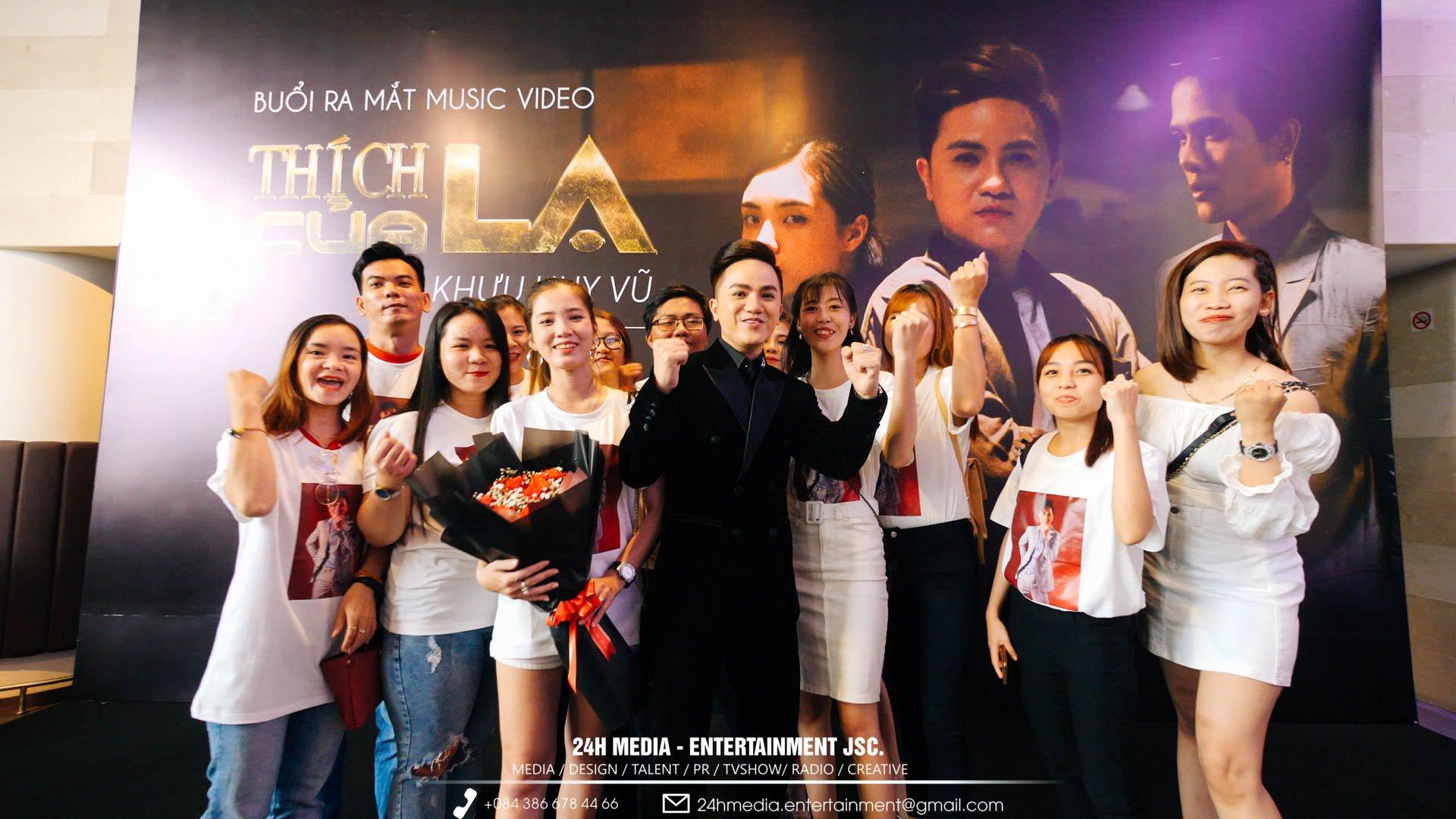 Khưu Huy Vũ luôn nhận được nhiều người ủng hộ từ các Fan.