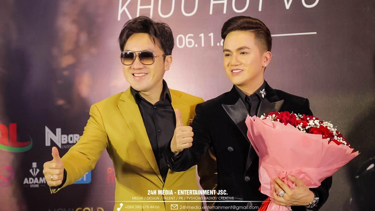 Anh ba Dương Ngọc Thái cùng đến chúc mừng Khưu Huy Vũ