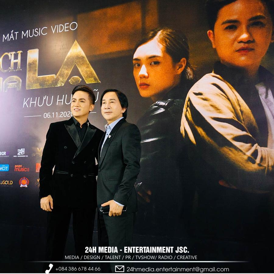 Nghệ sĩ ưu tú Kim Tử Long cũng có mặt tại sự kiện